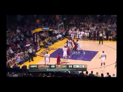 NBA CIRCLE - Miami Heat Vs LA Lakers Highlights 25 Dec. 2013 www.nbacircle.com