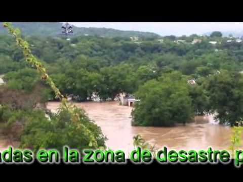 Desbordamiento del Rio en Amacuzac