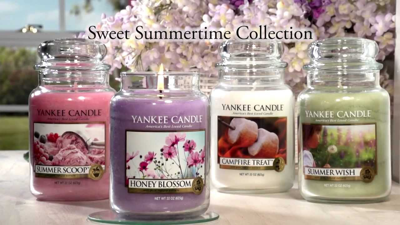 Yankee Candle Introduces The Scents Of Summer 2013 Youtube