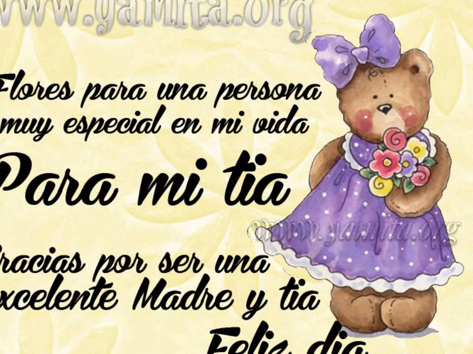 Feliz Cumpleanos Querida Tia Feliz Cumpleaños Tia Cristina