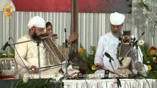Surjeet Singh  (Sarangi), Kirpal Singh (Dilruba)@ Satguru Jagjit Singh Ji Sangeet Sammellan@ 2014