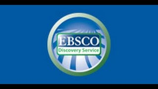 Capacitación: Uso de Base de Datos EBSCO