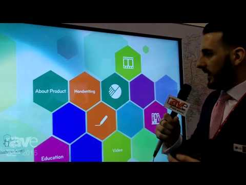 ISE 2015: LG Electronics Introduces 105-inch Interactive Whiteboard Display with 5K2K Resolution