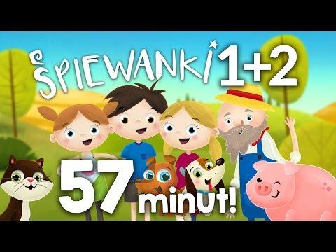 ZESTAW 14 Piosenek Dla Dzieci 57 MINUT. 1+2 Płyta Śpiewanki.tv Najlepsze Piosenki Dla Dzieci.
