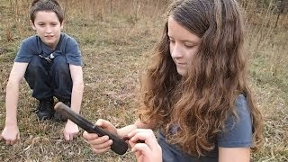 Metal Detecting with Emily and David !