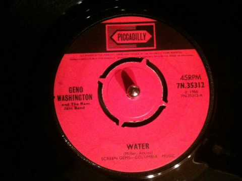 Geno Washington - water