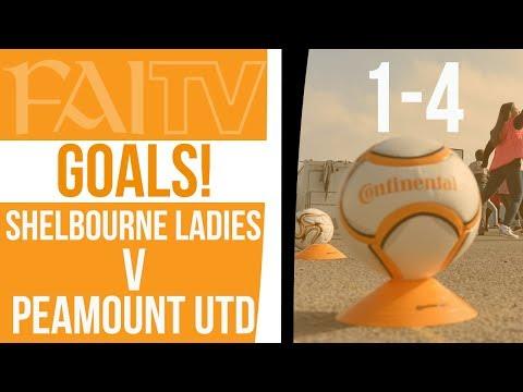 GOALS: Shelbourne Ladies 1-4 Peamount United