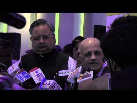 Mr. R,Chandrashekhar,sharing his views regarding Opportunity Chhattisgarh 2015