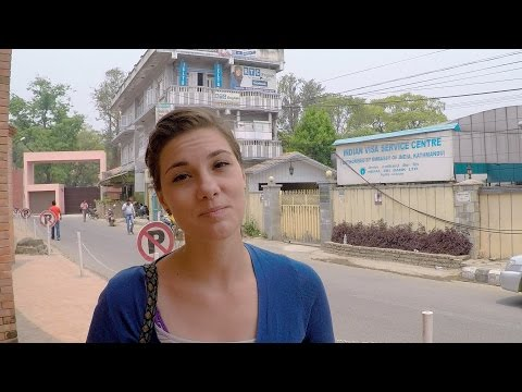 Getting Visas for India in Kathmandu