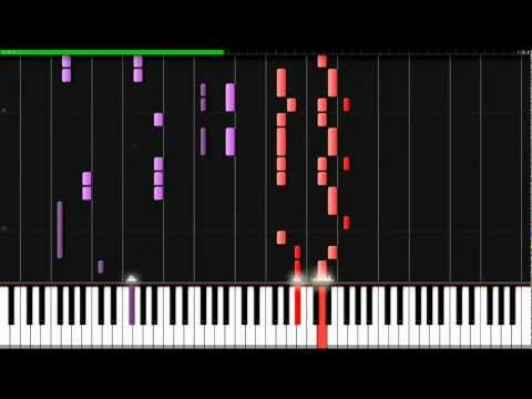 Naruto Shippuden - Diver Synthesia Piano video
