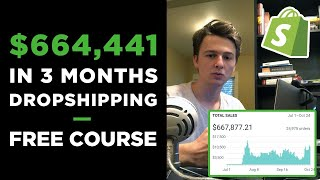 [Free Course] Dropshipping in 2019 | $664,441 in 3 Months With ONE Product