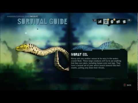 Far Cry 3 Animals/Wildlife | Water Wildlife | Moray Eels HD
