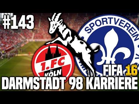 FIFA 16 KARRIEREMODUS #143 - 1. FC KÖLN! | FIFA 16 KARRIERE SV DARMSTADT 98 [S4EP8]