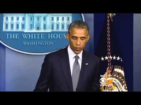 Obama Calls For Credible Investigation Into Malaysia Airlines Crash