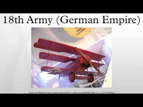 18th Army (German Empire)