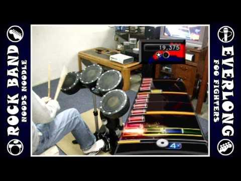 Everlong - 100% FC expert Rock Band 2 (drums)