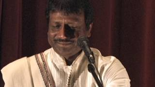 "Songs from ""A Musical Night of Ghazals"" by Sudhir Narain of Agra, performed at Nelson Mandela Auditorium, UNC Chapel Hill, NC, Nov. 8, 2013. Accompanied on v..."
