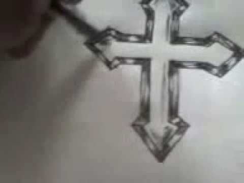 Cute Crosses to Draw How to Draw Cross For