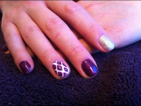 Diamond Nail Art with Gel Polish - Salon Secrets