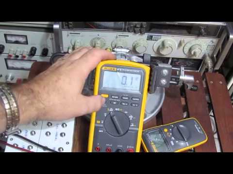 The Fluke 87V is put to the test.