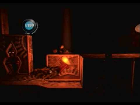 Little Big Planet (PS3) Gameplay Part 9 (The Wedding - The Darkness)
