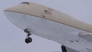 Evergreen International Airlines - Untitled Boeing 747-400 Landing 28 Chicago O'Hare Airport ORD