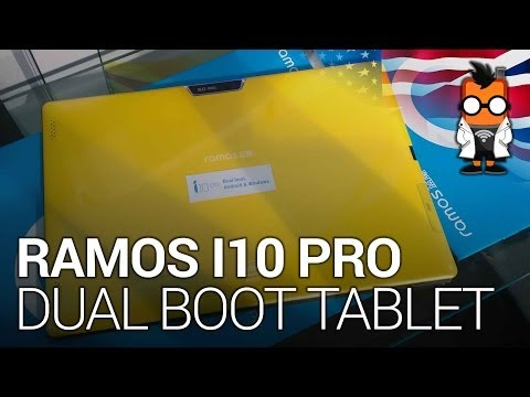 Ramos i10 Pro - Dual Boot Android & Windows BayTrail Tablet Hands On