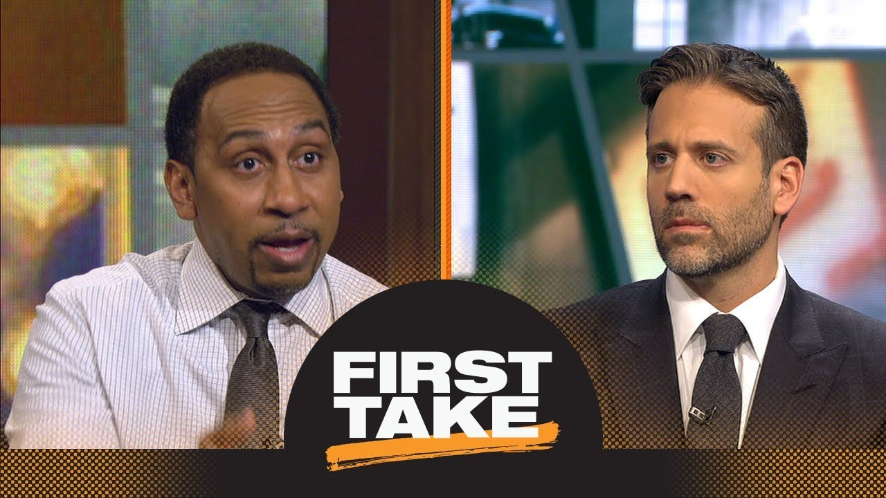 Stephen A. And Max react to LeBron James' Pacers vs. Cavs Game 5 buzzer-beater | First Take | ESPN