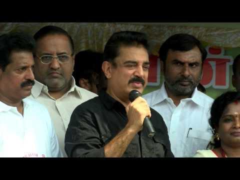 Actor Kamal Haasan Appeals South India to follow Clean India - Kamal celebrates CleanIndia Birthday