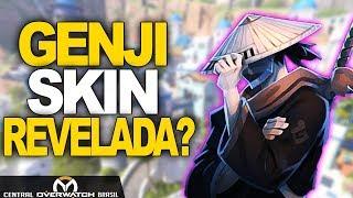 OVERWATCH   SKIN GENJI ESPADACHIM REVELADA NA NOVA COMIC DE HALLOWEEN?   Central Overwatch Brasil
