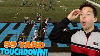 99 YARD TOUCHDOWN CHANGES THE GAME!! Madden 19 NMS #2