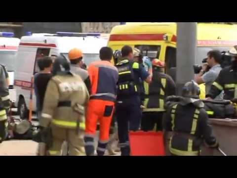 Moscow subway derailment kills at least 20