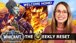 The Magic Of Classic & What BfA MUST Learn From It! Worgen Heritage Armor, Ragnaros & Nazjatar: WoW