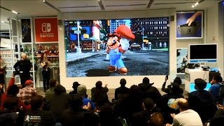 Nintendo Switch Presentation 2017 Live Reactions at Nintendo NY