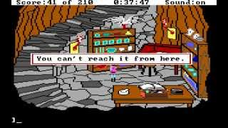 "Let's Play ""King's Quest III"" Part 03 - Spellcasting 101"