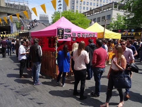 "Walking amongst the ""Kings & Queens"" of Indian and Pakistan Street Food at Alchemy Festival, London."