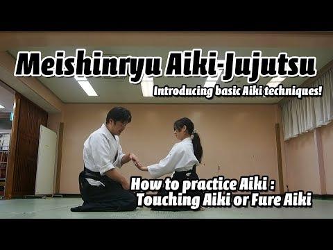How to do Fure Aiki of Okamoto Seigo