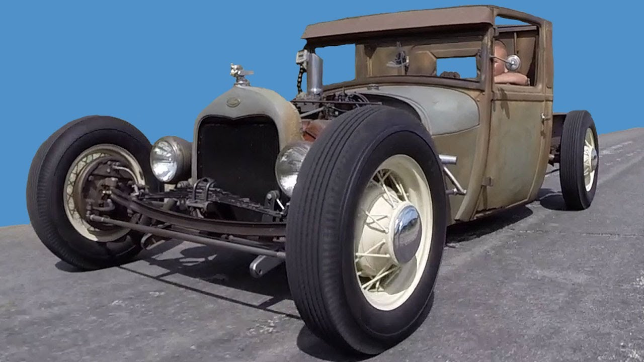 Lake Elsinore Ford >> 1929 Ford Model A Truck Hot Rod Rat Rod - YouTube