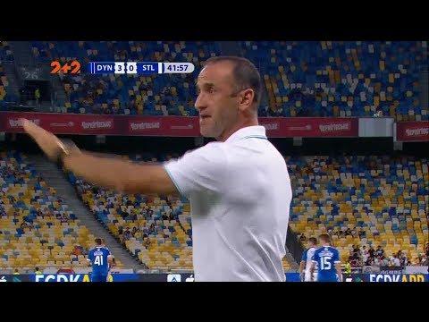 Тренер Стали устроил словесную перепалку с Хацкевичем