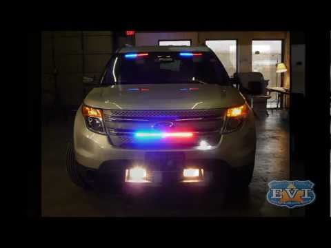 Medley Police Dept Ford Explorer Interceptor SUV HG2 Lighting Package How T