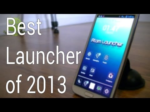 Best Stylish Android Launcher of 2013! (Atom Launcher)