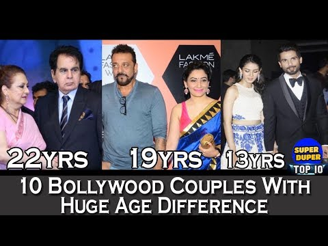 10 Bollywood Couples With Huge Age Difference - HD Latest 2018