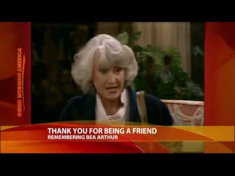 Remembering Bea Arthur