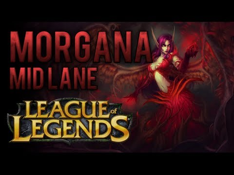 Morgana Mid Lane (How To Play AP Morgana) - League of Legends