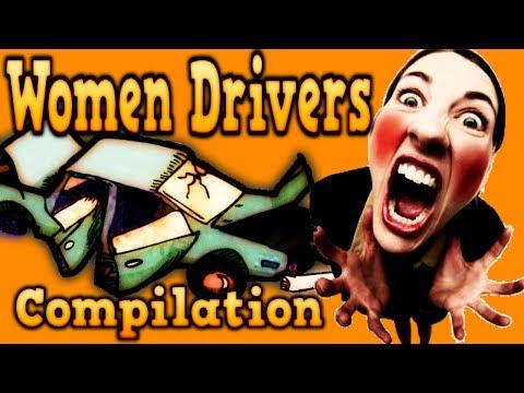 Epic Women Drivers Compilation - Donne Al Volante Pericolo Costante