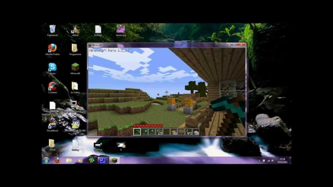 minecraft ohne alles spielen