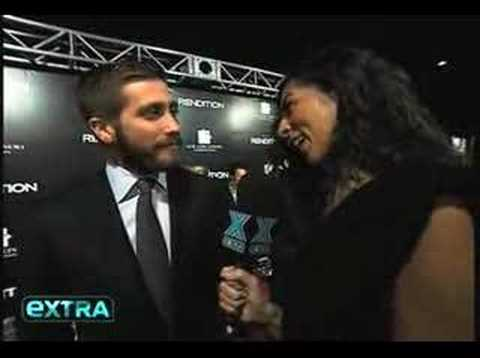 Jake Gyllenhaal at the Rendition premiere - extra interview Video