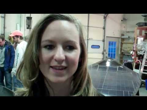 Principia College Student Engineer Kali McKee Discusses Solar Car Design