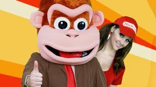 DONKEY KONG Dances In Public - Dynamite Song Parody