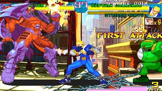 Marvel vs Capcom: clash of super heroes para Android(Tiger Arcade)